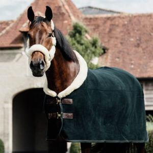 Kentucky tävlingstäcke fleece mörkgrönt
