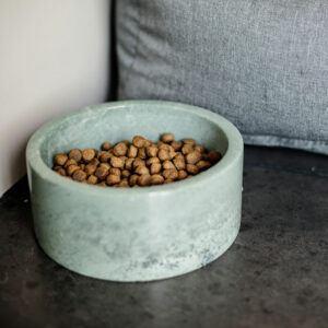 Kentucky dogwear hundskål marmor grön