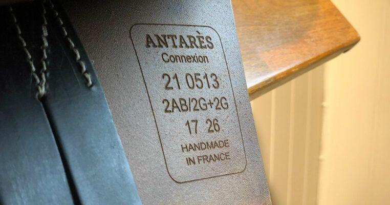 Antarès connexion märkning banner