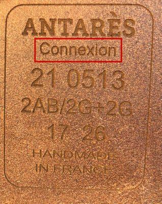 Antarès märkning modellnamn