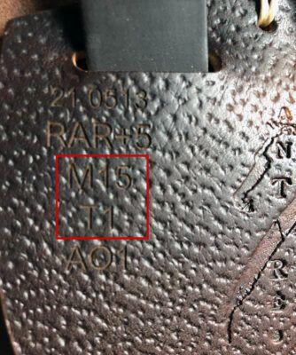 Antarès märkning passform typ av panel
