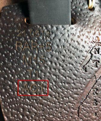 Antarès märkning passform bomvidd