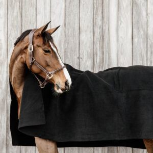 Kentucky filt hevay fleece svart detalj