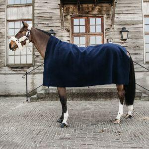 Kentucky filt hevay fleece mörkblå sida