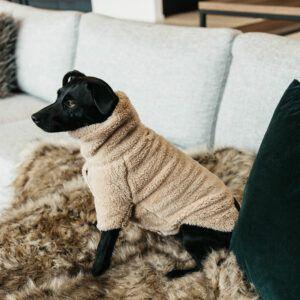 Kentucky dogwear hundtröja teddy fleece produktbild detalj