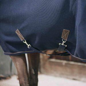 Kentucky Horsewear 3D Spacer coolertäcke detalj kryssgjord